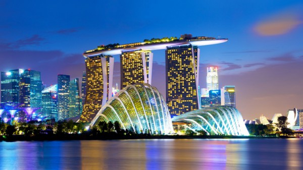 marina bay sands Hotel, marina bay